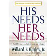 His Needs Her Needs, by Dr. Willard Harley